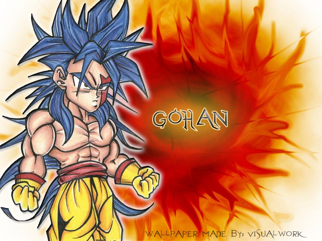 imagenes chidas de dragonballz parte 3 solo gohan